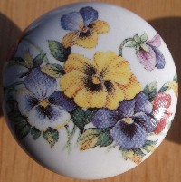 Cabinet knobs flower magnolia rose sunflower images