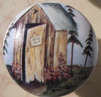 Cabinet knob Outhouse