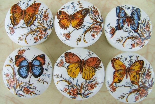 Decorative Cabinet Knobs Insects Butterfly Butterflies Bees Hives