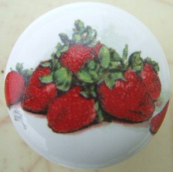 Strawberry cabinet knobs pulls